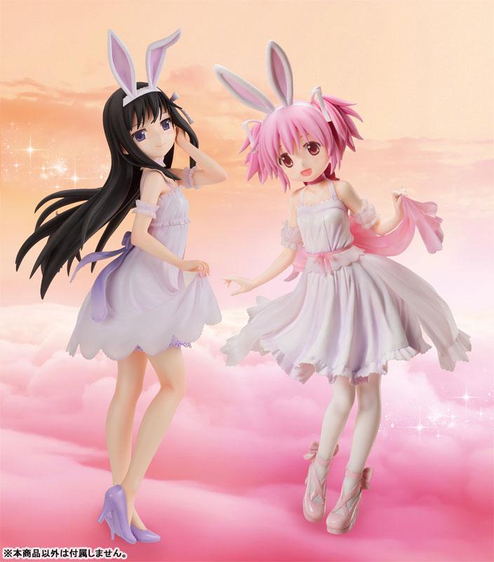 B-STYLE Movie Puella Magi Madoka Magica [New] The Rebellion Story Homura Akemi Rabbit Ears Ver. 1/4 Complete Figure
