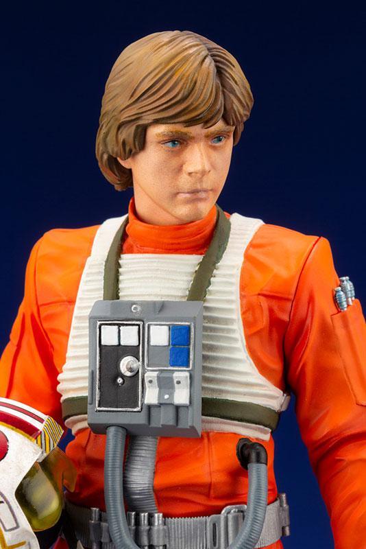 ARTFX+ Star Wars Luke Skywalker X-WING Pilot 1/10 Easy Assembly Kit 3
