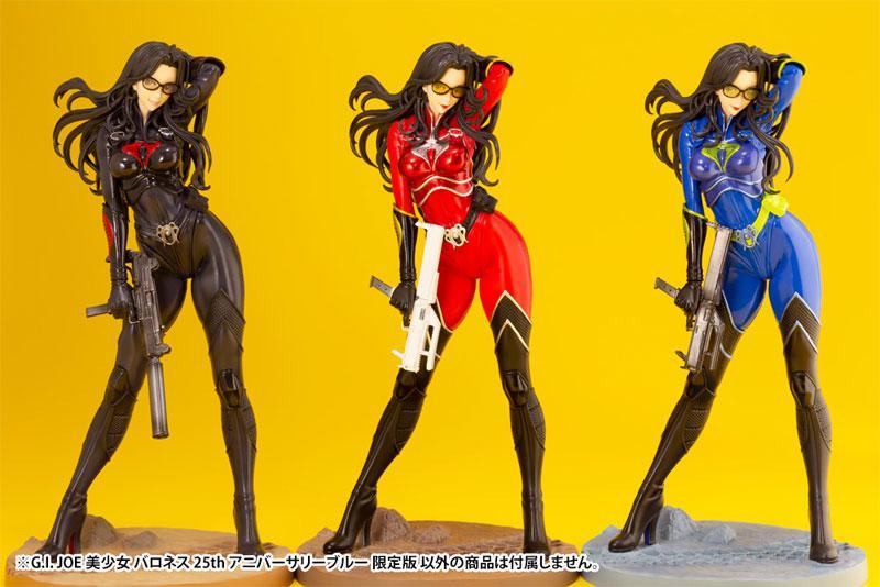 G.I. JOE Bishoujo Baroness 25th Anniversary Blue Limited Edition 1/7 Complete Figure 10