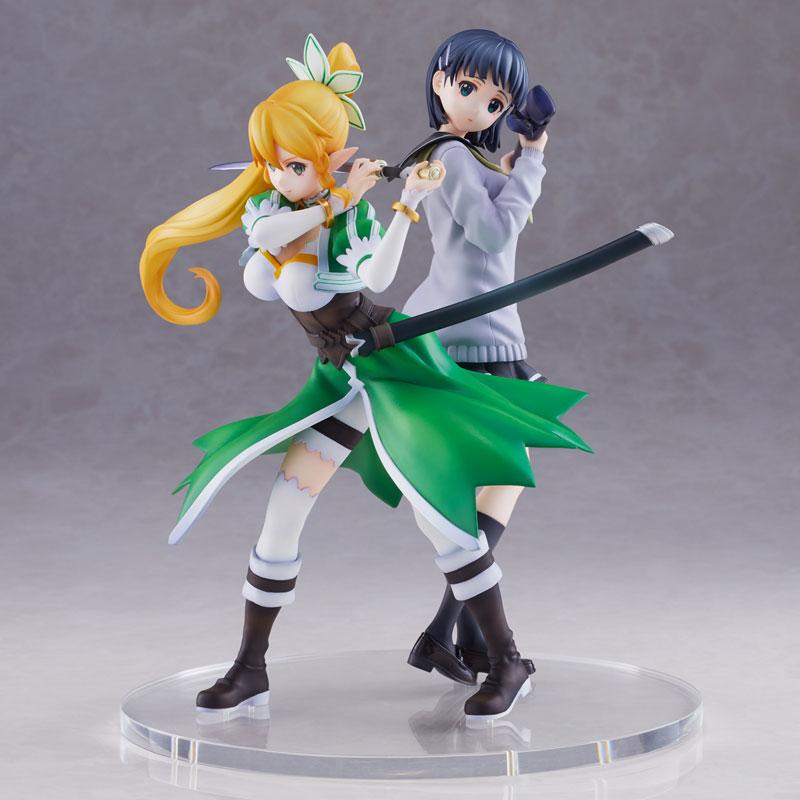 Sword Art Online Leafa & Suguha Kirigaya 2 Figures Set Complete Figures 4
