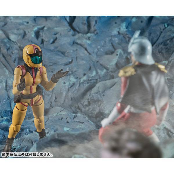 G.M.G. (Gundam Military Generation) Mobile Suit Gundam Earth Federation Force 06 Sayla Mass Posable Figure