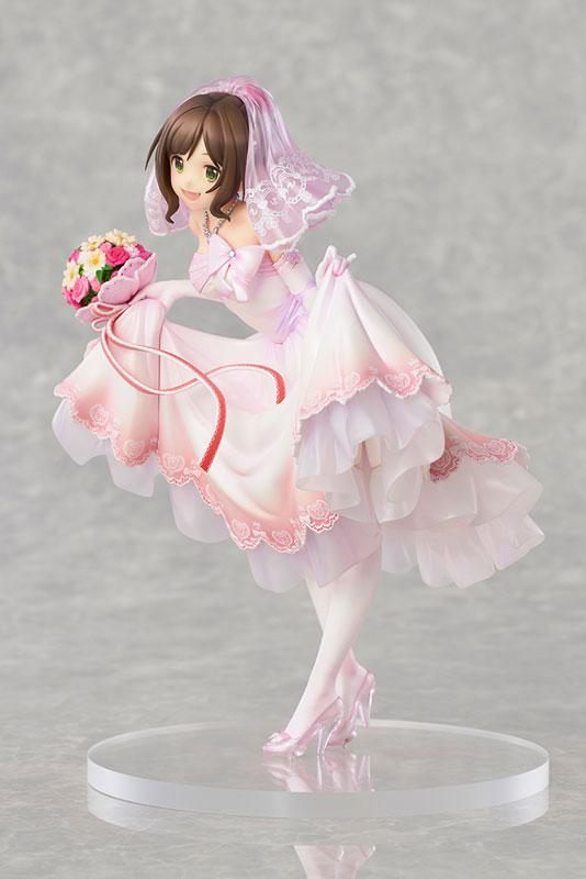 THE IDOLM@STER Cinderella Girls Miku Maekawa Dreaming Bride ver. Limited Edition 1/7 Complete Figure 2
