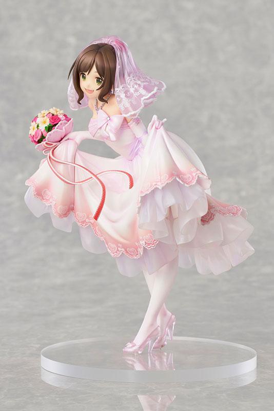 THE IDOLM@STER Cinderella Girls Miku Maekawa Dreaming Bride ver. Limited Edition 1/7 Complete Figure