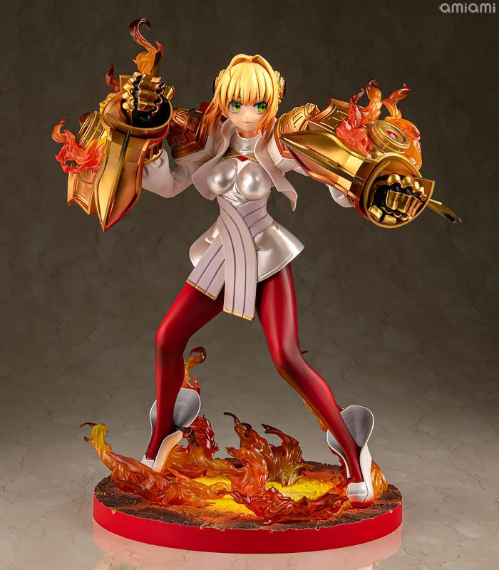 Fate/EXTELLA [Saber Regalia] Nero Claudius Zoukei Shinka Gekiteki STATUE 01 1/7 Complete Figure 0