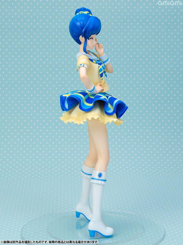 Lucrea Aikatsu! Aoi Kiriya Blue Stage Coord 1/7 Complete Figure 5