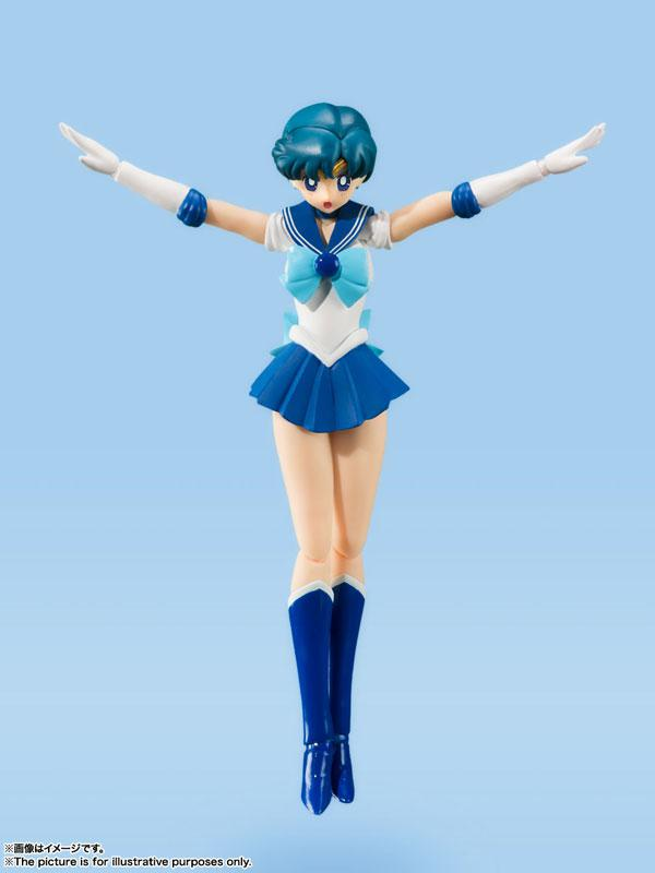 "S.H.Figuarts Sailor Mercury -Animation Color Edition- ""Sailor Moon"""