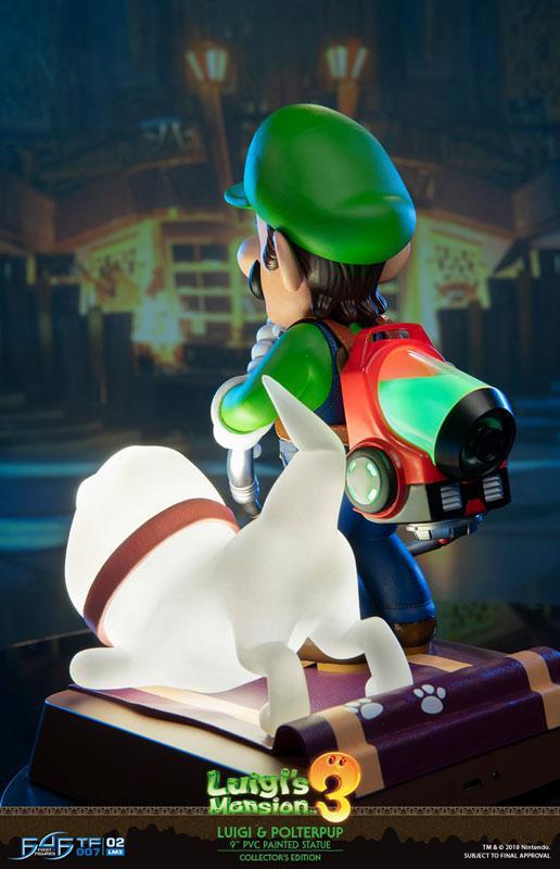 Luigi's Mansion 3/ Luigi 9 Inch PVC Statue Collector Edition 10