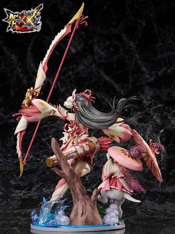 MONSTER HUNTER XX Mitsune Series Female Gunner 1/7 Complete Figure 1