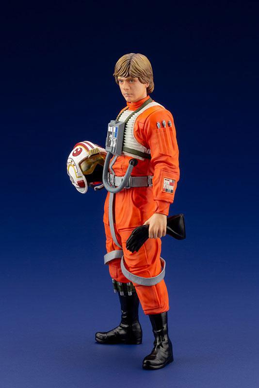 ARTFX+ Star Wars Luke Skywalker X-WING Pilot 1/10 Easy Assembly Kit 0