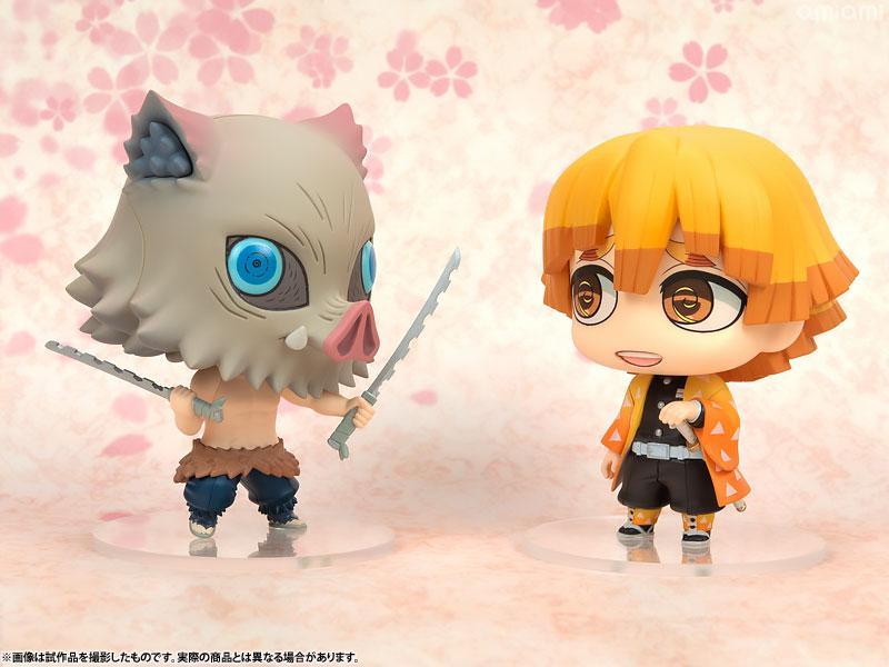 Chimi Mega Buddy Series! Kimetsu no Yaiba Zenitsu Agatsuma & Inosuke Hashibira Set 9
