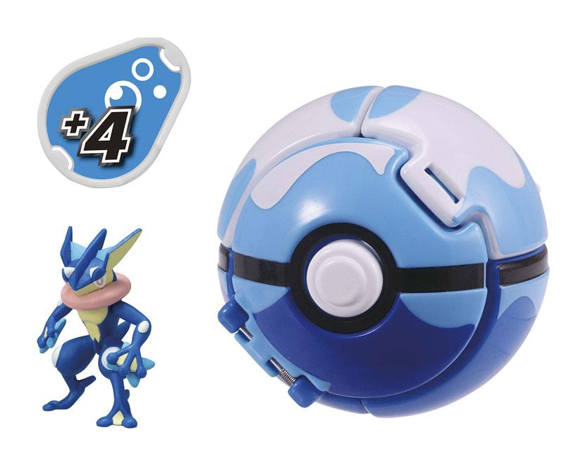 Pokemon MonColle PokeDel-Z Greninja (Dive Ball) main