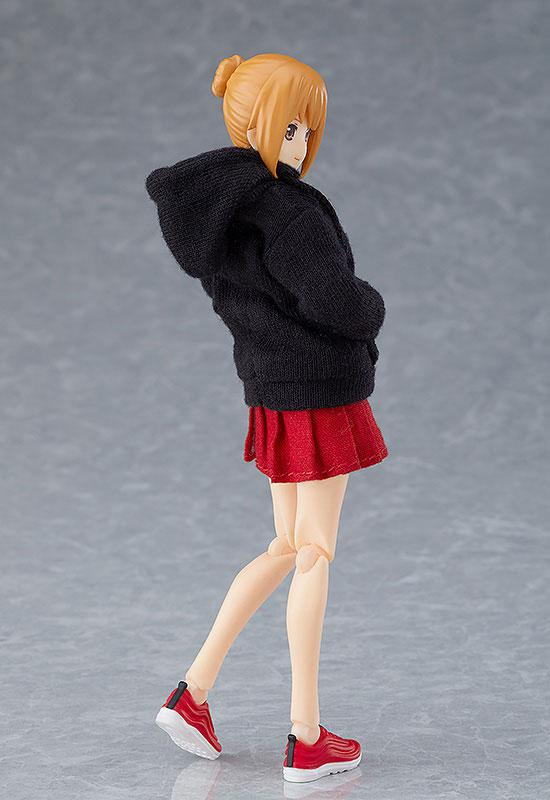 figma Female Body (Emily) with Hoodie Outfit 4