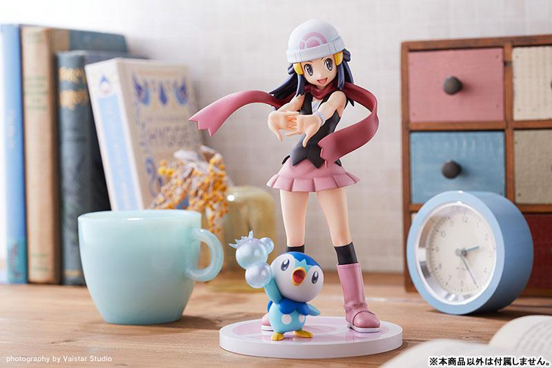 """ARTFX J """"Pokemon"""" Series Dawn with Piplup 1/8 Complete Figure 14"""
