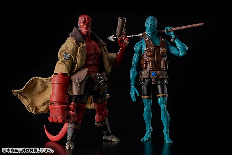 Hellboy Abe Sapien 1/12 Action Figure 8