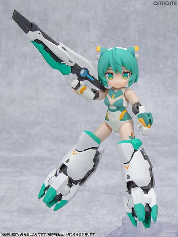 [Bonus] Desktop Army Alice Gear Aegis Sylphy II (Ganesha Equipment) Posable Figure 9