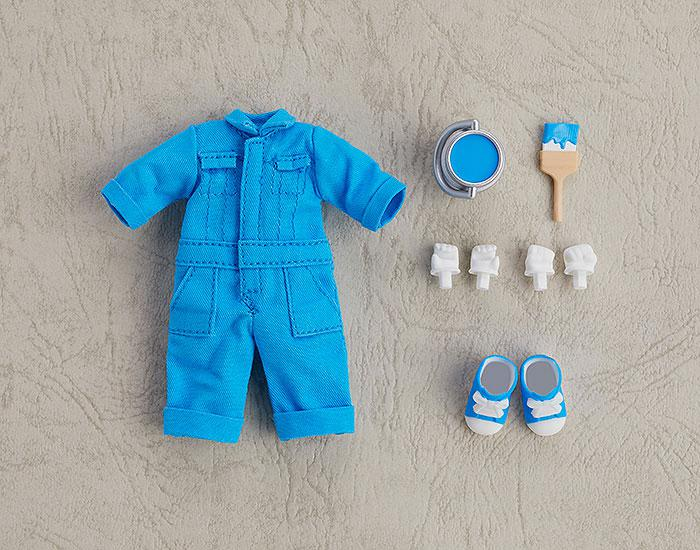 Nendoroid Doll Outfit Set (Colorful Coverall: Blue) main