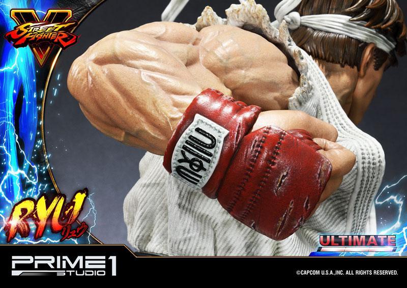 Premium Master Line Street Fighter V Ryu Ultimate 1/4 Statue 6