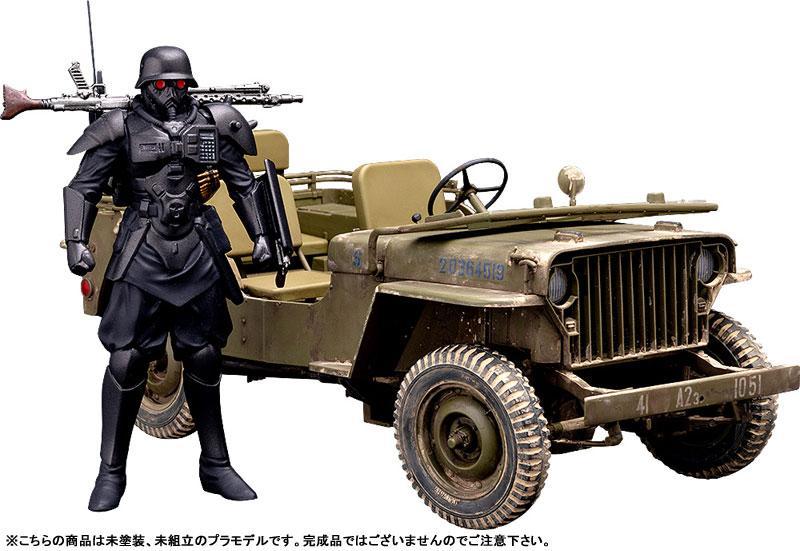 PLAMAX MF-35 minimum factory Akai Megane PROTECT GEAR with Special Investigations Unit Patrol Vehicle 1/20 Plastic Model