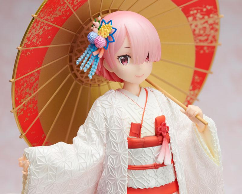 Re:ZERO -Starting Life in Another World- Ram -White Kimono- 1/7 Complete Figure