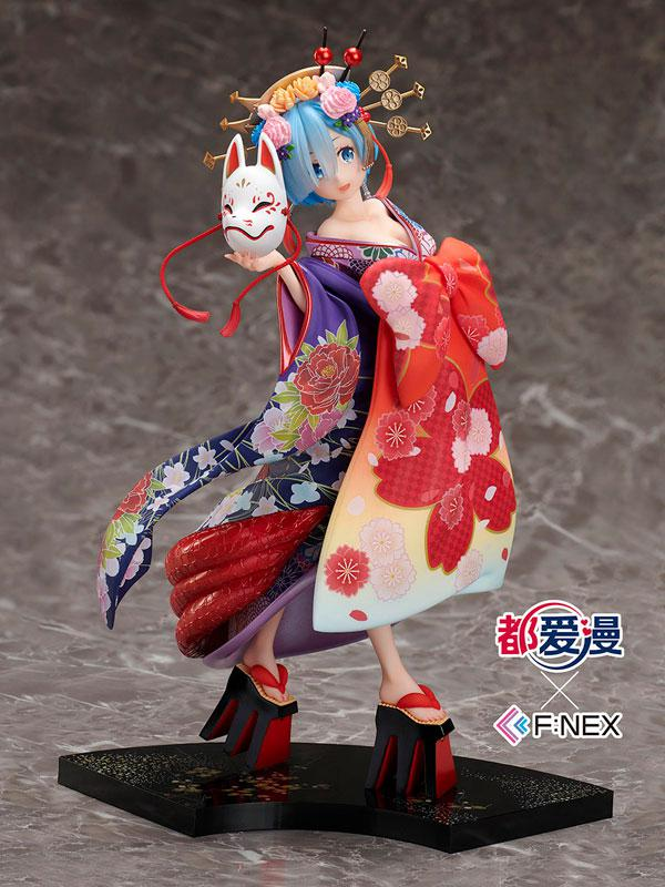 Re:ZERO -Starting Life in Another World- Douaiman x F:NEX Rem -Oirandouchuu- 1/7 Complete Figure