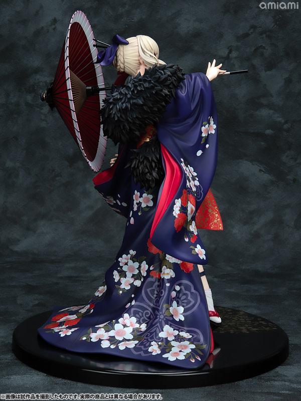 KDcolle Movie Fate/stay night [Heaven's Feel] Saber Alter Kimono Ver. 1/7 Complete Figure 5