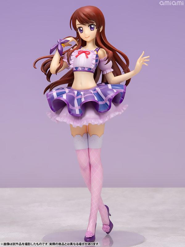 Lucrea Aikatsu! Ran Shibuki Purple Stage Coord 1/7 Complete Figure product