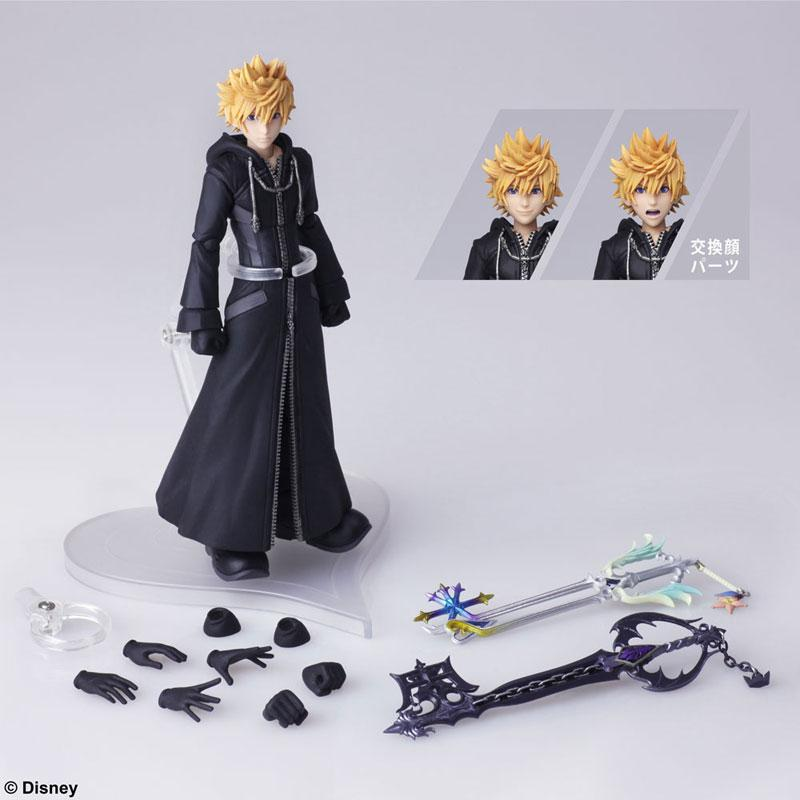 KINGDOM HEARTS III BRING ARTS Roxas Action Figure 6