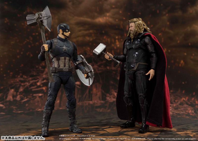 S.H.Figuarts Captain America -[FINAL BATTLE] EDITION- (Avengers: Endgame) 7