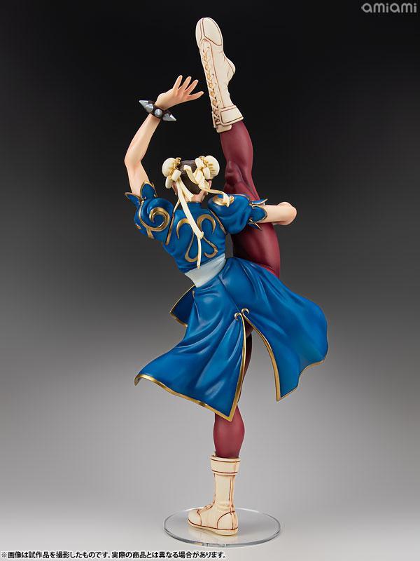 Capcom Figure Builders Creator's Model Street Fighter Chun Li Complete Figure