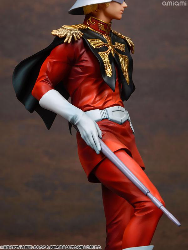 GGG (Gundam Guys Generation) Mobile Suit Gundam Char Aznable 1/8 Complete Figure 15
