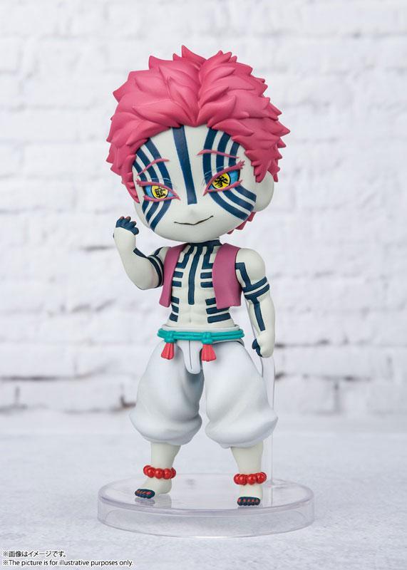 """Figuarts mini Akaza """"Demon Slayer: Kimetsu no Yaiba"""" product"""