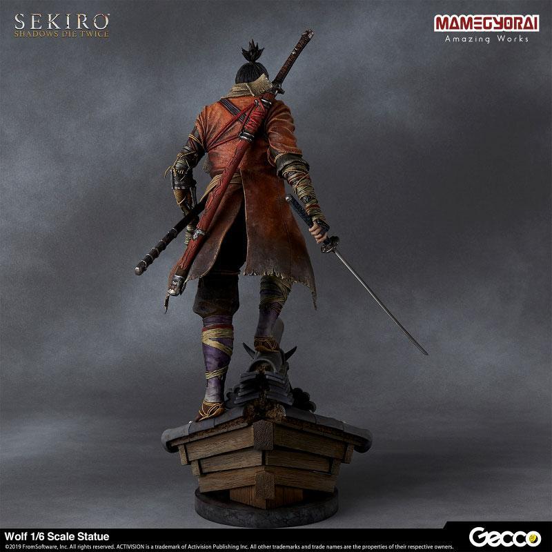[Bonus] SEKIRO: SHADOWS DIE TWICE/ Wolf 1/6 Scale Statue 3