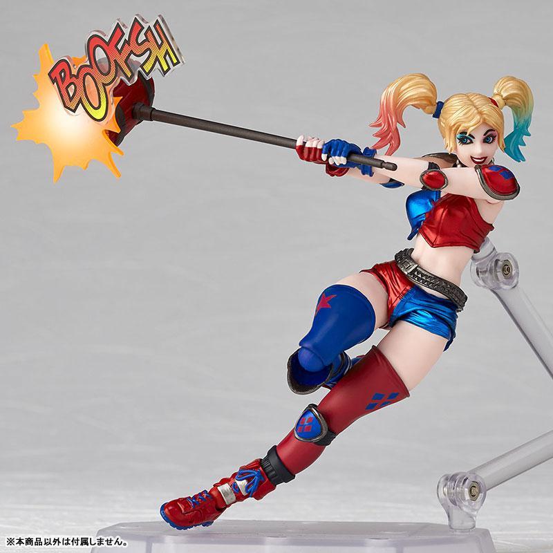 Figure Complex Amazing Yamaguchi No.015EX Harley Quinn New Color Edition