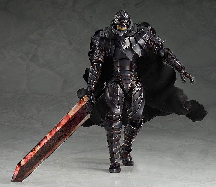 [Includes Correction Part] figma Berserk Guts Berserker Armor ver. Repaint Skull Edition main