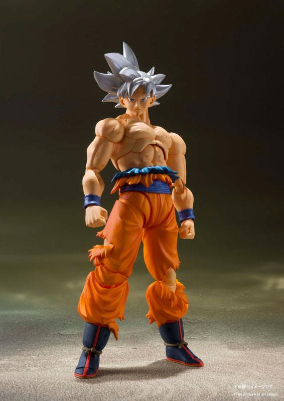 "S.H.Figuarts Son Goku Ultra Instinct ""Dragon Ball Super"" product"