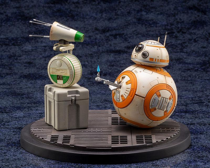 ARTFX STAR WARS: THE RISE OF SKYWALKER D-O & BB-8 1/7 Easy Assembly Kit product