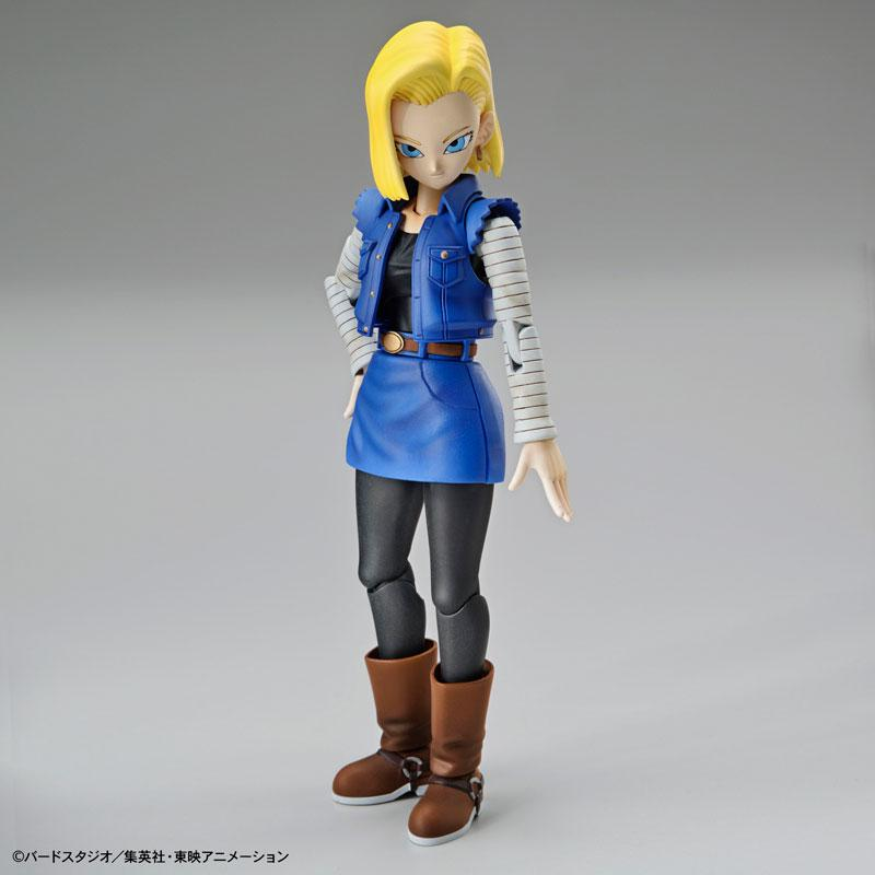 "Figure-rise Standard Android #18 (Renewal Ver.) Plastic Model ""Dragon Ball"" product"
