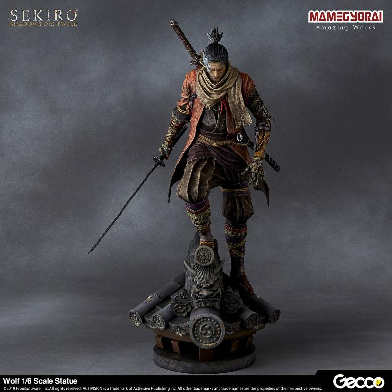 SEKIRO: SHADOWS DIE TWICE/ Wolf 1/6 Scale Statue