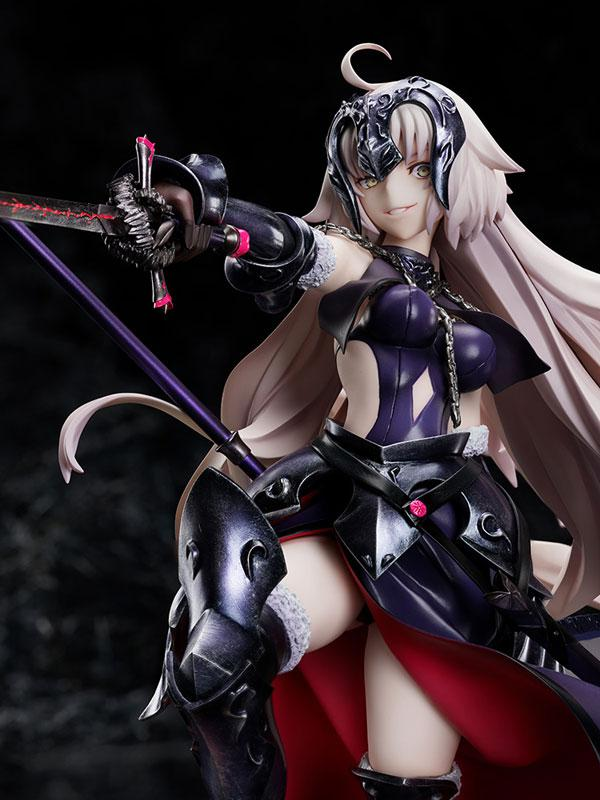 Fate/Grand Order Avenger / Jeanne d'Arc [Alter] Kuraki Homura wo Matoishi Ryuu no Majo 1/7 Complete Figure 0