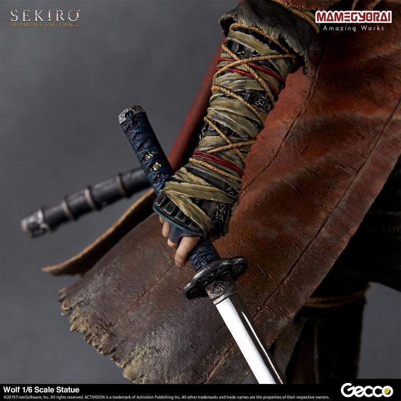 [Bonus] SEKIRO: SHADOWS DIE TWICE/ Wolf 1/6 Scale Statue 14