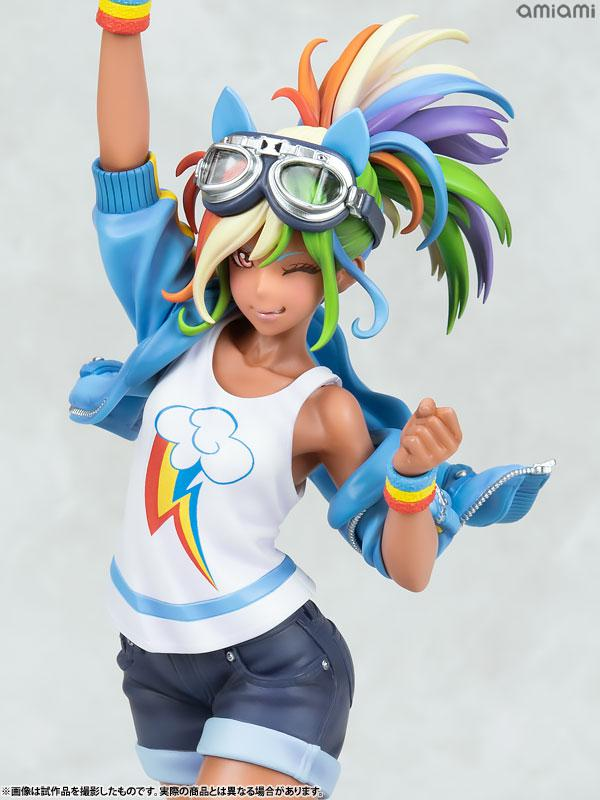MY LITTLE PONY BISHOUJO Rainbow Dash 1/7 Complete Figure 7