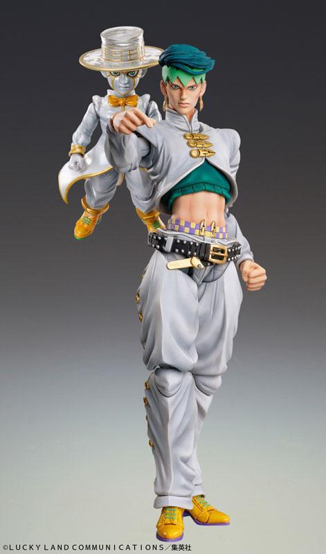 Super Action Statue JoJo's Bizarre Adventure Part.IV Rohan Kishibe & Heaven's Door main