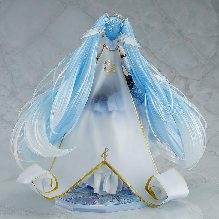 Character Vocal Series 01 Hatsune Miku Snow Miku Snow Princess Ver. 1/7 Complete Figure 1
