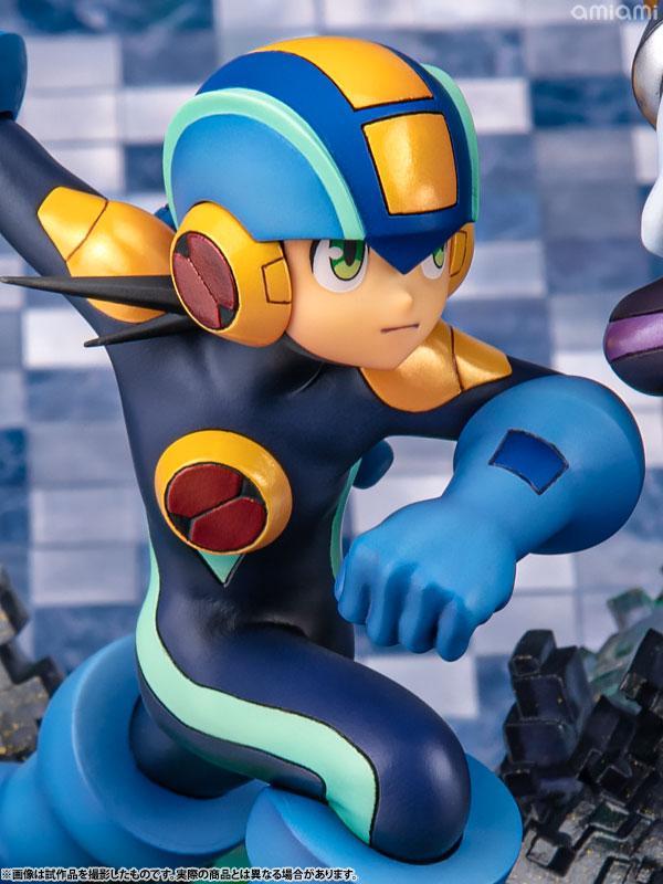 Game Characters Collection DX Mega Man - XZ Mega Man vs Bass Complete Figure