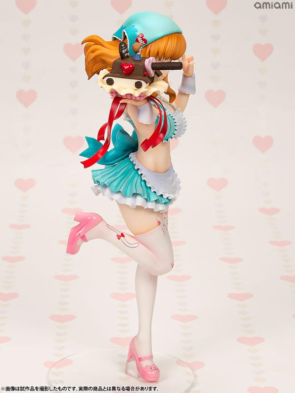 DreamTech Girls und Panzer Saori Takebe [Valentine Apron] 1/7 Complete Figure 5