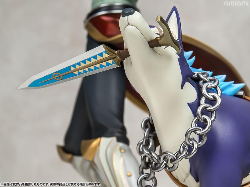 Tales of Vesperia Yuri Lowell Holy Knight in One's Heart Ver. & Repede 1/8 Complete Figure