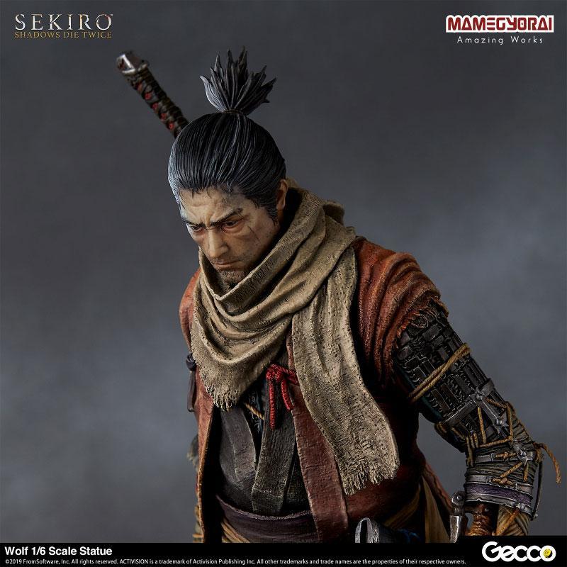 [Bonus] SEKIRO: SHADOWS DIE TWICE/ Wolf 1/6 Scale Statue 7