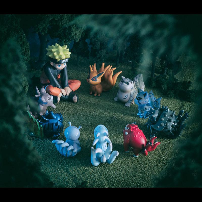 G.E.M. Series Gaiden! NARUTO Shippuden Naruto Uzumaki and Tailed Beasts Complete Figure
