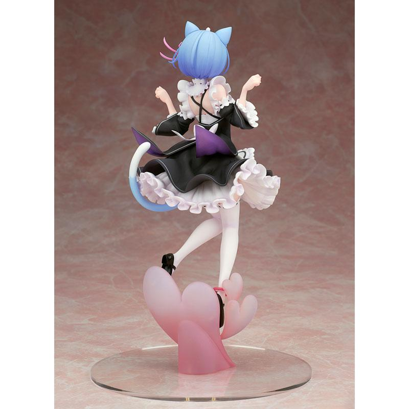 Alpha Omega Re:ZERO -Starting Life in Another World- Rem Cat Ear Ver. Complete Figure 3