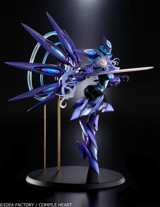 New Dimension Game Neptunia VII Next Purple Processor Unit Full Ver. 1/7 Figure